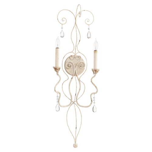 Quorum Lighting Quorum Lighting Venice Persian White Sconce 5544-2-70