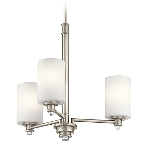 Kichler Lighting Kichler Lighting Joelson Brushed Nickel Chandelier 43922NI