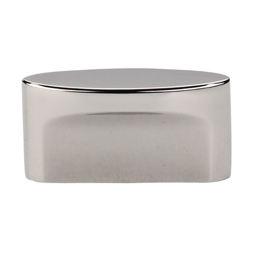 Top Knobs Hardware Modern Cabinet Knob in Polished Nickel Finish TK74PN