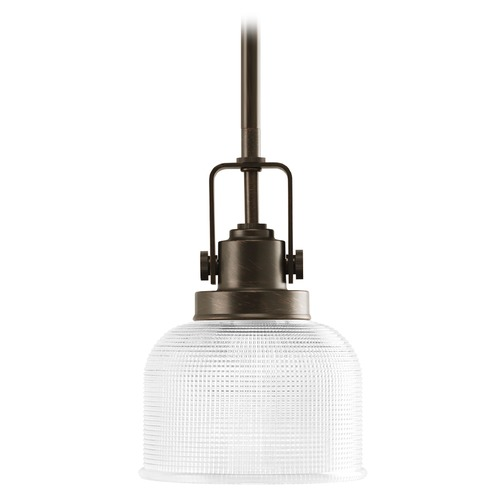 Progress Lighting Progress Mini-Pendant Light with Clear Glass P5173-74