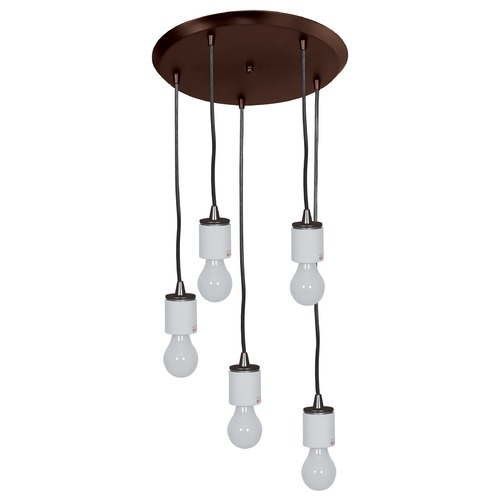 Access Lighting Access Lighting Circ Oil Rubbed Bronze Multi-Light Pendant 52232FC-ORB