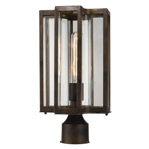 Elk Lighting Elk Lighting Bianca Hazelnut Bronze Post Light 45148/1