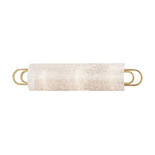 Hudson Valley Lighting Hudson Valley Lighting Buckley Aged Brass Bathroom Light 5843-AGB