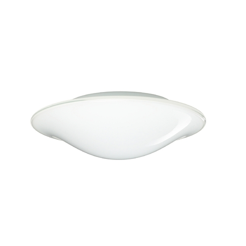 Besa Lighting Flushmount Light with White Glass 1CS-909539