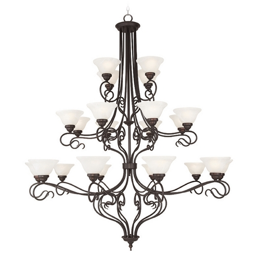 Livex Lighting Livex Lighting Coronado Bronze Chandelier 6189-07