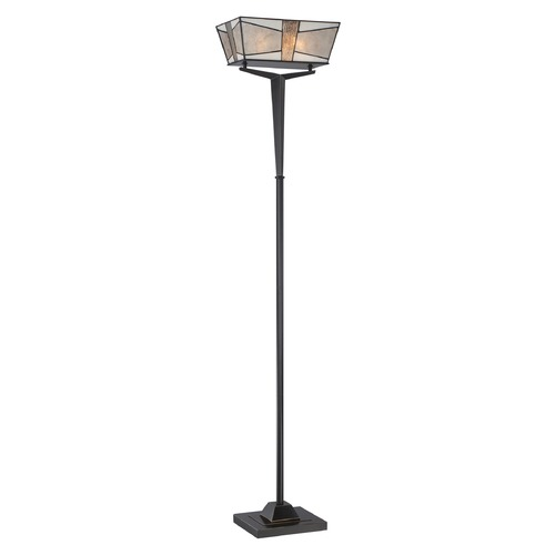 Quoizel Lighting Quoizel Lighting Alistar Imperial Bronze Torchiere Lamp with Square Shade MCAL9470IB