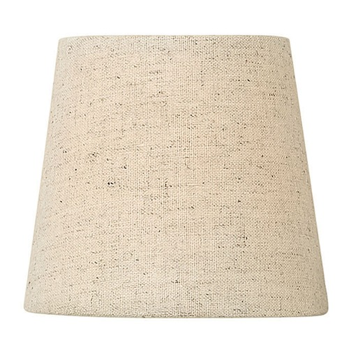 Hinkley Lighting Oatmeal Chambray Coolie Lamp Shade 3910SH