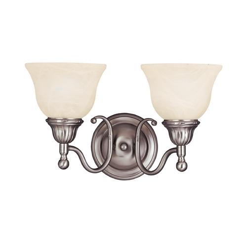 Maxim Lighting Soho Satin Nickel Bathroom Light 11057svsn Destination Lighting