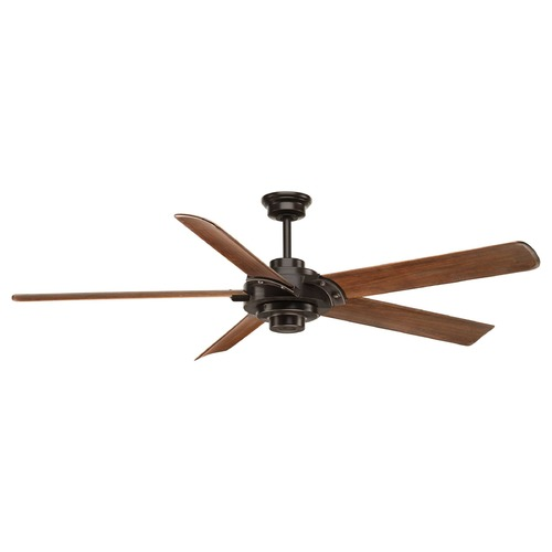Progress Lighting Progress Lighting Ellwood Antique Bronze Ceiling Fan Without Light P2546-20
