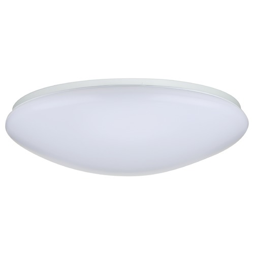 Nuvo Lighting Nuvo Puff White LED Flushmount Light 3000K 2000LM 62/765