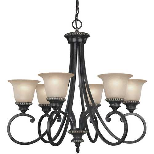 Dolan Designs Lighting Six-Light Chandelier 1750-148