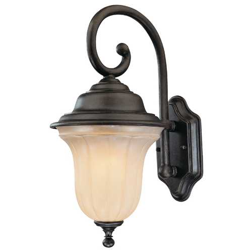 Dolan Designs Lighting Bronze Outdoor Wall Lantern - 18-1/4-Inches Tall 9275-68