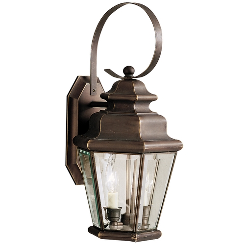Kichler Lighting Kichler 18-1/2-Inch Outdoor Wall Light 9676OZ