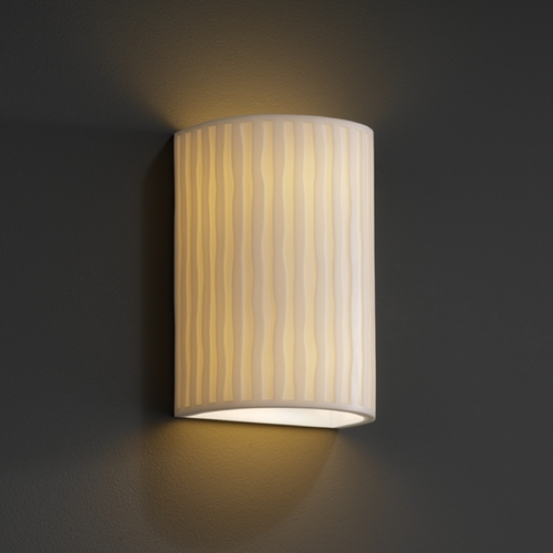 Justice Design Group Justice Design Group Porcelina Collection Outdoor Wall Light PNA-0945W-WFAL