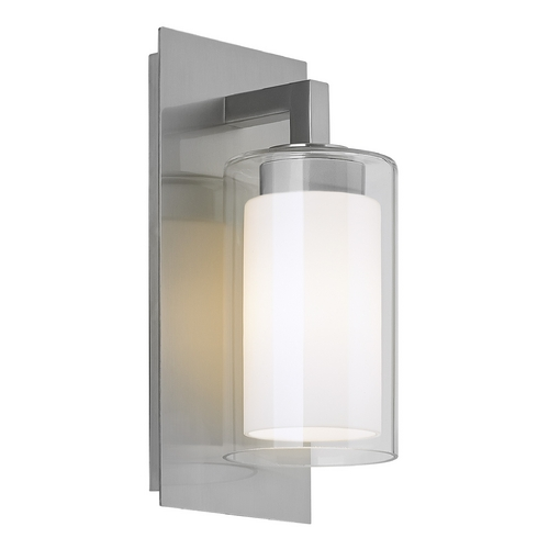 Feiss Lighting Feiss Lighting Salinger Brushed Steel Outdoor Wall Light OL13000BS