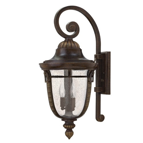 Hinkley Lighting Hinkley Lighting Colfax Bronze Outdoor Wall Light 2920BZ-GU24