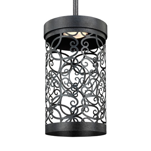 Feiss Lighting Feiss Lighting Arramore Dark Weathered Zinc LED Outdoor Hanging Light P1419DWZ-LED