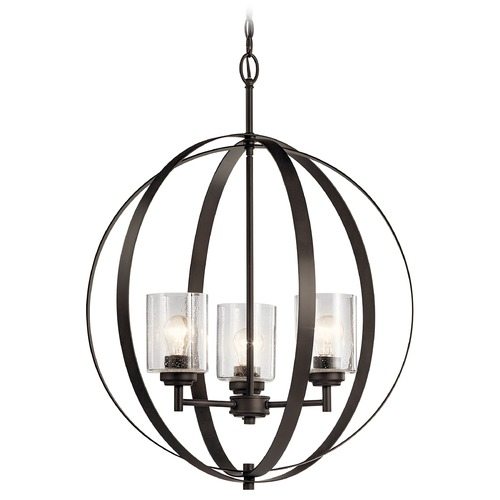 Kichler Lighting Kichler Lighting Winslow 3-Light Olde Bronze Chandelier 44034OZ