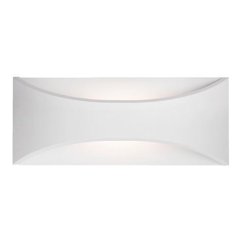 Kuzco Lighting Modern White LED Outdoor Wall Light 3000K 287LM EW3612-WH