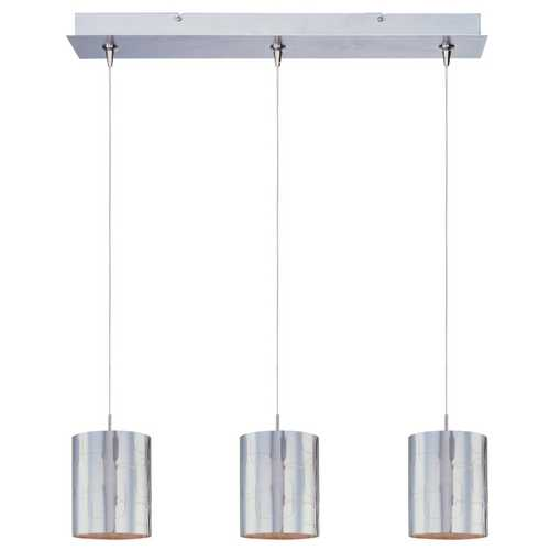 ET2 Lighting Modern Low Voltage Multi-Light Pendant Light with Clear Glass and 3-Lights E94807-69SN