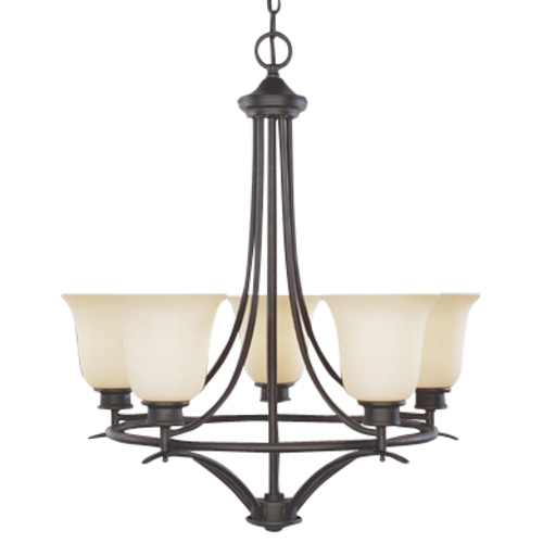 Designers Fountain Lighting Five-Light Chandelier 96985-ORB