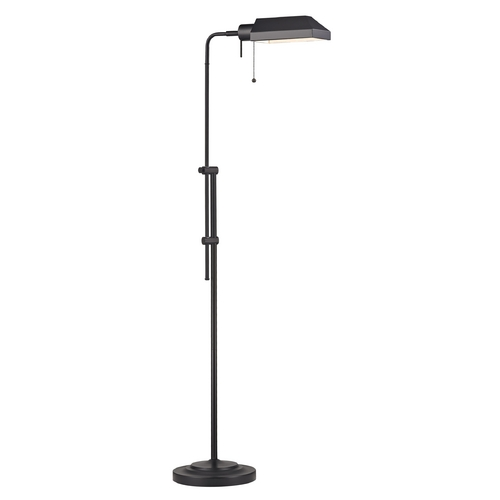 Design Classics Lighting Design Classics Ebony Bronze Pharmacy Adjustable Floor Lamp 2292-40