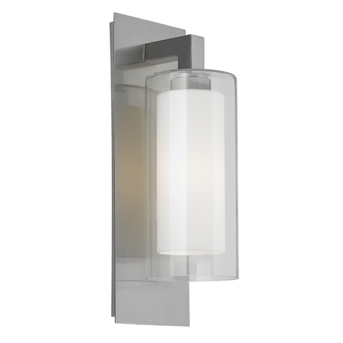 Feiss Lighting Feiss Lighting Salinger Brushed Steel Outdoor Wall Light OL13001BS