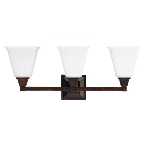 Sea Gull Lighting Sea Gull Lighting Denhelm Burnt Sienna Bathroom Light 4450403BLE-710