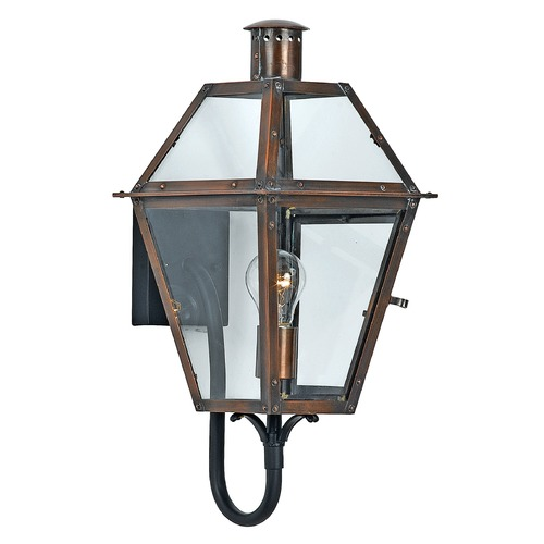 Quoizel Lighting Quoizel Rue De Royal Aged Copper Outdoor Wall Light RO8410ACFL