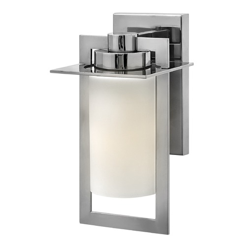 Hinkley Lighting Hinkley Lighting Colfax Polished Stainless Steel Outdoor Wall Light 2920PS-GU24