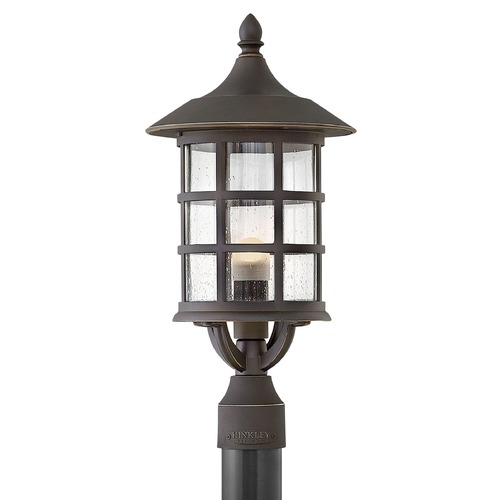 Hinkley Lighting Hinkley Lighting Freeport Oil Rubbed Bronze LED Post Light 1801OZ-LED