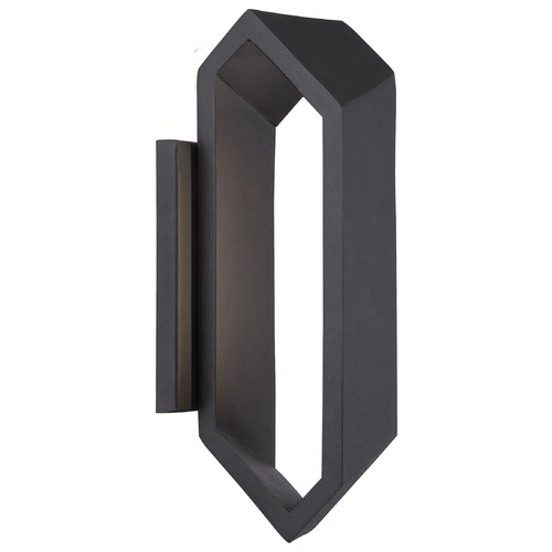 George Kovacs Lighting George Kovacs Pitch Sand Silver LED Sconce P1204-295-L