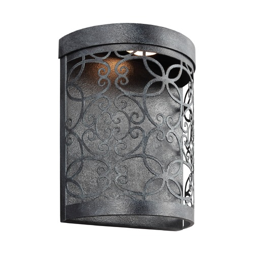 Feiss Lighting Feiss Lighting Arramore Dark Weathered Zinc LED Outdoor Wall Light WB1814DWZ-LED