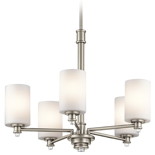 Kichler Lighting Kichler Lighting Joelson Brushed Nickel Chandelier 43923NI