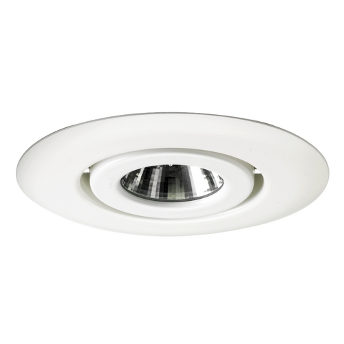 Juno Lighting Group Flush Gimbal Ring for 4-Inch Low Voltage Recessed Housing 440 WH