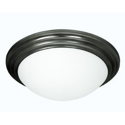 Access Lighting Access Lighting Strata Oil Rubbed Bronze LED Flushmount Light 20652LEDD-ORB/OPL