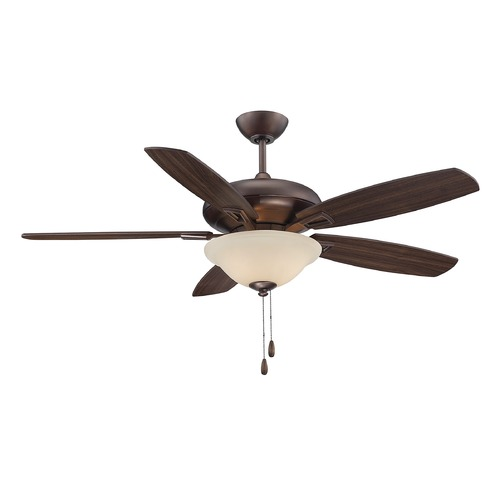 Savoy House Savoy House Byzantine Bronze Ceiling Fan with Light 52-831-5RV-35