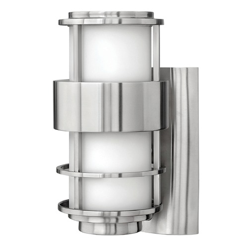 Hinkley Lighting Hinkley Lighting Saturn Stainless Steel LED Outdoor Wall Light 1900SS-LED