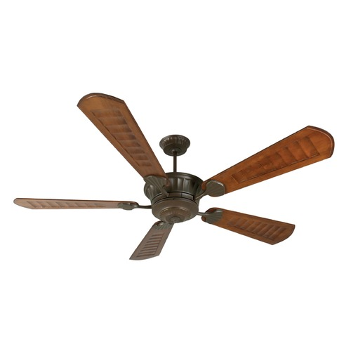 Craftmade Lighting Craftmade Lighting Dc Epic Aged Bronze Textured Ceiling Fan Without Light K10309