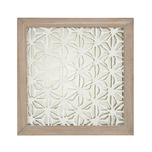 Dimond Lighting Natural Fibers On Foil Wall D cor 168-004