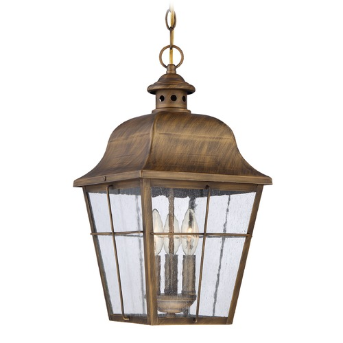 Quoizel Lighting Quoizel Lighting Millhouse Veneto Outdoor Hanging Light MHE1910VN