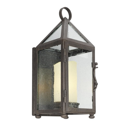 Troy Lighting Troy Lighting Hidden Hills Centennial Rust Outdoor Wall Light B4471