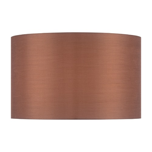 Lite Source Lighting Copper Bronze Drum Lamp Shade with Spider Assembly CH1248-16