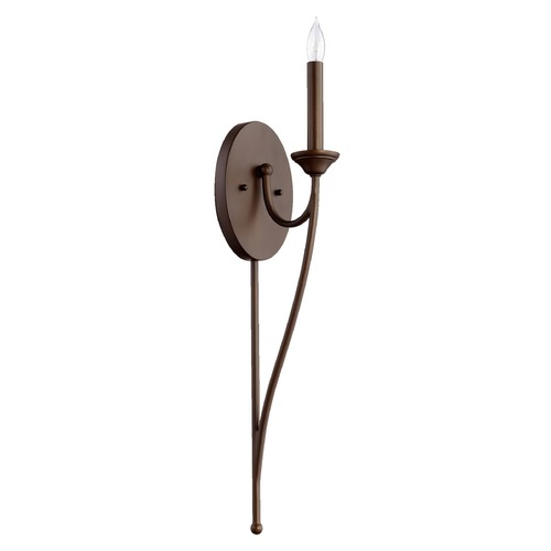 Quorum Lighting Quorum Lighting Brooks Oiled Bronze Sconce 5650-1-86