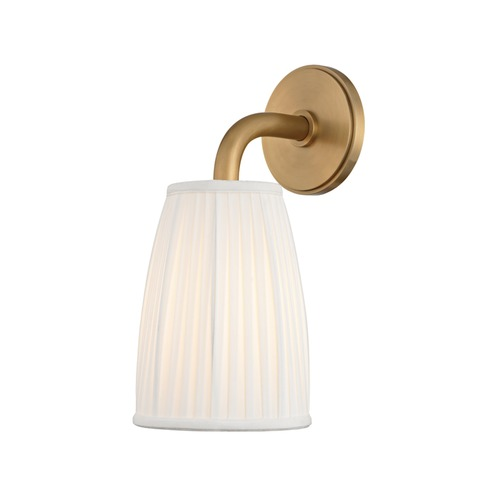 Hudson Valley Lighting Hudson Valley Lighting Malden Aged Brass Sconce 6061-AGB