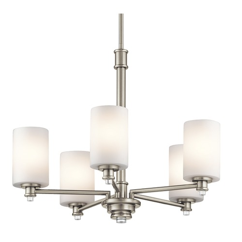 Kichler Lighting Kichler Lighting Joelson Brushed Nickel LED Chandelier 43923NIL16
