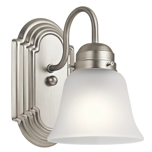 Kichler Lighting Traditional Sconce Brushed Nickel by Kichler Lighting 5334NIS