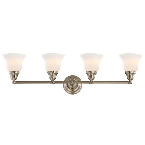 Design Classics Lighting Four-Light Bathroom Light 774-09 G9110 KIT