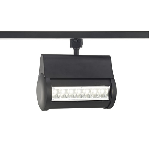 Recesso Lighting by Dolan Designs Black LED Wall Washer for Juno Track Systems 4000K 3200LM TR1071J-40-BK