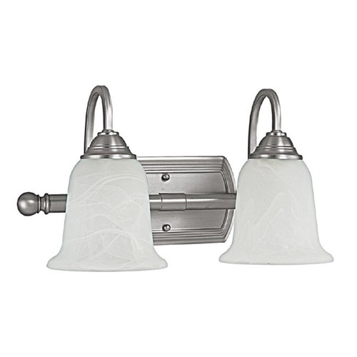 Capital Lighting Capital Lighting Metro Matte Nickel Bathroom Light 1792MN-223
